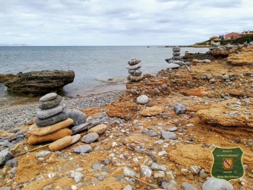 Con esta imagen, los agentes que velan por el medio ambiente piden dejar el litoral tal y como es.