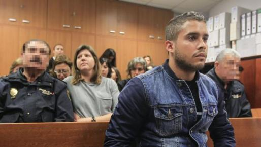 José Fernando Ortega, hijo del torero José Ortega Cano y de la fallecida Rocío Jurado, en una imagen de un juicio reciente.