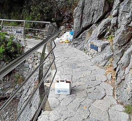 Hace un par de meses que nadie limpia el torrente de Pareis.