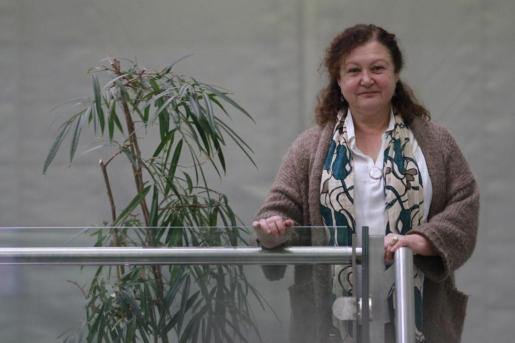 La diputada de Podemos Mae de la Concha en una imagen de archivo tomada en Maó.