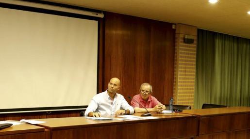 Damià Estelrich en una imagen de archivo durante una reunión de la Procampo.
