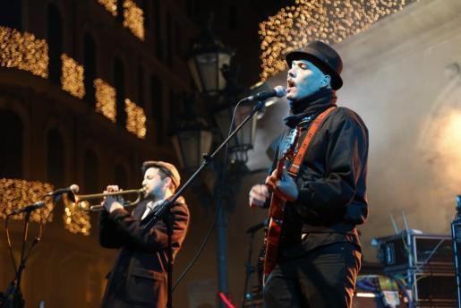 Imagen de archivo de un concierto de Dinamo.
