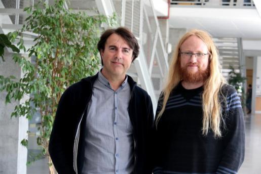 Los doctores José Luis Groizard y William Nilsson, profesores del Departamento de Economía Aplicada de la UIB.