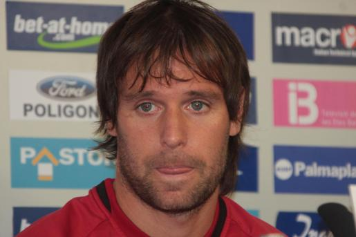 El internacional del Mallorca, Fernando Cavenaghi, podría marcharse al Internacional de Porto Alegre.