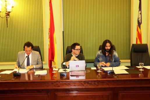 En la imagen, el conseller de Territori, Energia i Movilitat, Marc Pons.