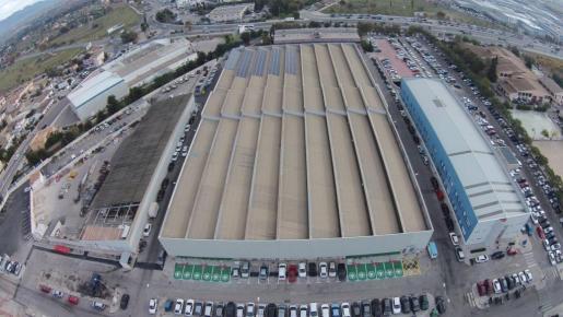 Emaya duplicará la instalación fotovoltaica de la cubierta de Son Pacs.