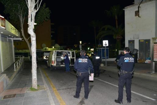 El atropello mortal tuvo lugar a las 3.00 horas de la madrugada en una calle perperdicular a Punta Ballena.