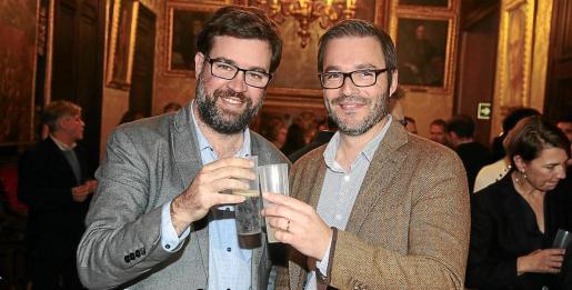 Antoni Noguera y José Hila mantienen muy buena relación personal, pese a ser de distintos partidos políticos.