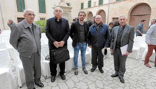 Pere Torres, Joan Bestard, Llorenç Carrió, Gabriel Amengual y Joan Bauzà.
