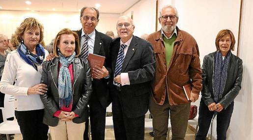 Francisca Payeras, Maria Bel Jaume, Pep Aguiló, Jaume F. Mulet, Jeroni Maimó y Rosa Torres.