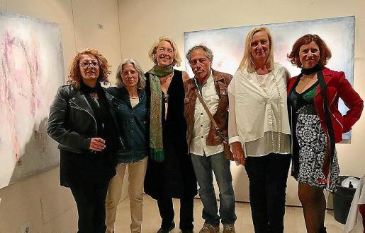Sandra Renzi, Yolanda Rodríguez, Bettina Westerheide, Bruno Frerejean, Doris Duschelbauer y Vicky Pérez.