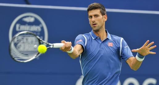 En la imagen, el tenista serbio, Novak Djokovic.