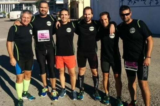 En la imagen, algunos de los integrantes del Club Deportivo Rodis.