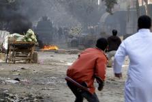 PROTESTAS EN EL CAIRO EN MEDIO DE UN BLOQUEO DE LAS COMUNICACIONES POR INTERNET Y TELEFONÍA MÓVIL