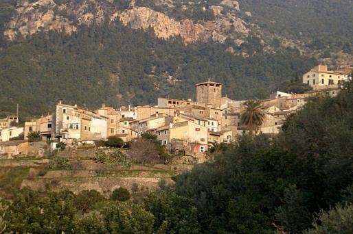 VIsta de Estellencs, uno de los municipios que se ha analizado en el estudio.