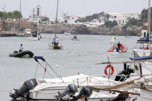 Imagen de archivo del puerto de Ciutadella.