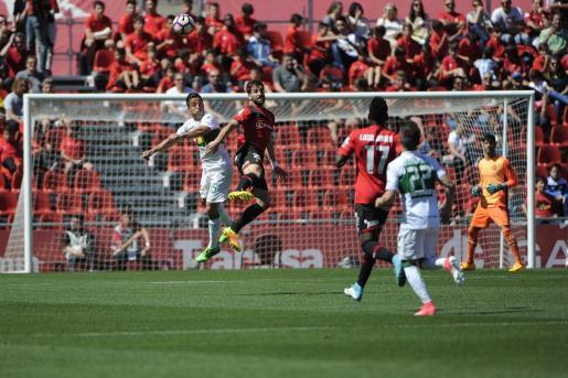 El Mallorca ha obtenido una importante victoria ante el Elche.
