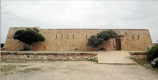 La fortaleza de es Fortí contará próximamente con un bar.
