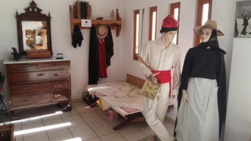 Imagen de una de las estancias de la colección museográfica de Formentera.