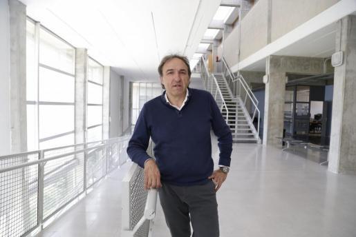 Rafel Crespí, candidato a rector de la UIB.