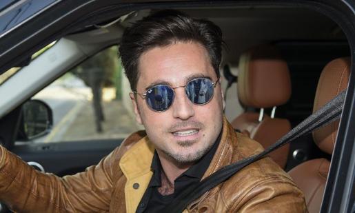 En la imagen, el cantante, David Bustamante.