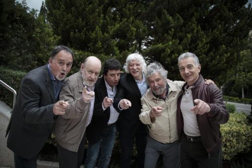 Los integrantes de Les Luthiers recalaron en Palma el noviembre pasado.