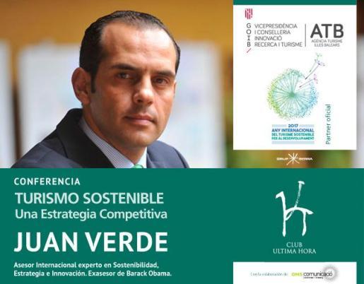 Conferencia - Juan Verde, Turismo sostenible: una estrategia competitiva