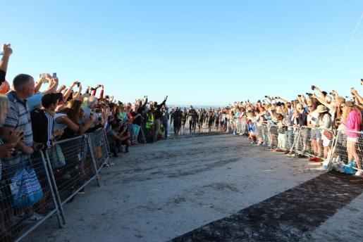 Un momento de la Nirvana Ironman 70.3 disputada en Alcúdia.
