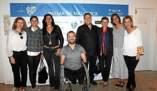 Joana Maria Vives, Paula Serra, Marta Andreu, Kyle Maynard, Juan Pablo Escobar, Carmen Serra, María Franco y Pilar Cánovas.