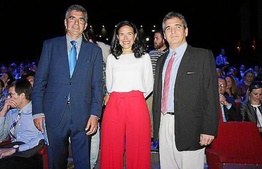 Carlos Beltrán , Tuni Felíu e Ignacio Rodríguez.