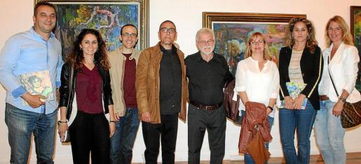 Bartomeu Cifre, Marta Seguí, Marc Díaz, Andreu Aguiló, Antoni Bennàssar, Joana Aguiló, Rosa Vanrell y Esperanza Rechach.