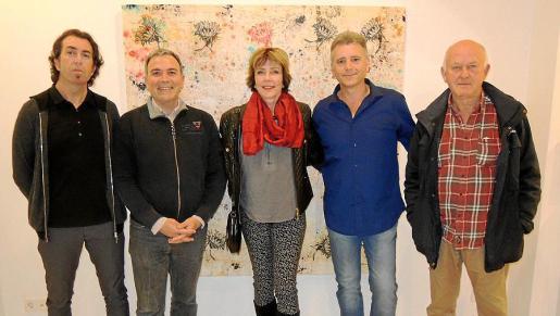Pere Joan Martorell, Jorge Azri, Gisela Hammer, Josep Maria Alaminos y Luis Vidal.
