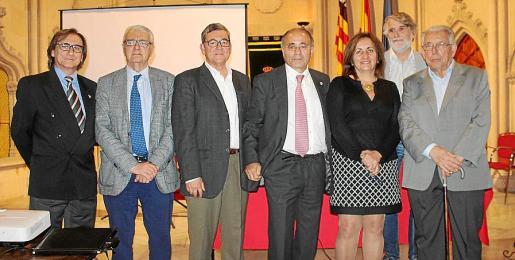 Miguel Aguiló, Gabriel Garcías, Joan Jordi Muntaner, Josep Prohens, Fanny Tur, Tono Vila y Rafel Perelló Paradelo.