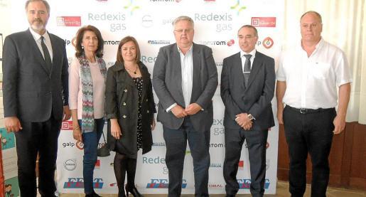 Miguel Mayrata, Carme Planas, Mercedes Garrido, Rafel Roig, José Antonio Álvarez e Isidro Bellota.