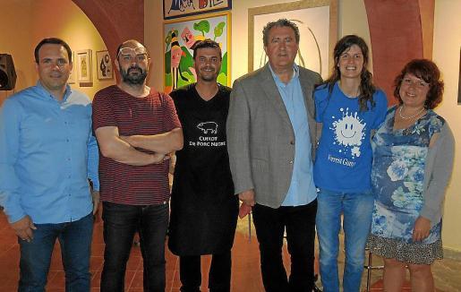 Javier Irazusta, Xesc Reina, Joan Martínez, Ramón Servalls, Jasmijn del Castillo y Olga Smertina.
