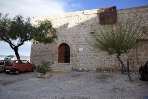 Vista del museo Arqueológico de Ibiza.