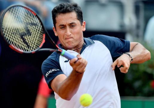 El tenista español Nicolás Almagro.