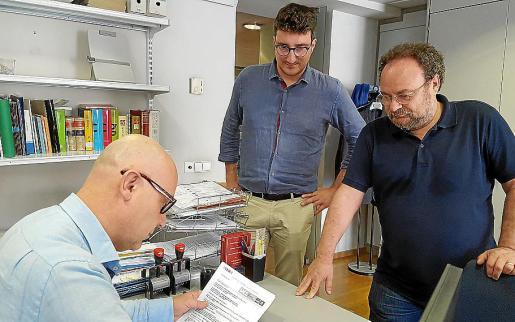 Antoni Reus (MÉS) y Damià Borràs (PSIB) egistraron este lunes las enmiendas conjuntas.