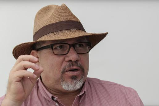 Fotografía de archivo del 5 de octubre de 2016, del escritor mexicano Javier Valdez.