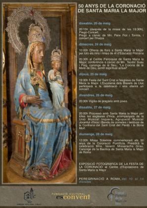 La parroquia ha organizado varios actos conmemorativos que culminarán con una peregrinación a Roma durante el próximo mes de noviembre.
