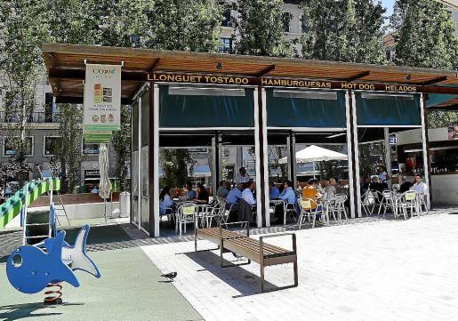 La acusada se marchó sin pagar su cuenta en el bar Ciutat, en Palma.