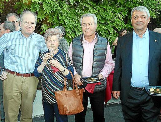 Guillem Servera, Teresa Ferrer, Jaume Orell y Toni Pons.