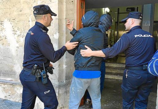 Un total de 9.717 delitos se produjeron en Mallorca en el transcurso del año pasado.