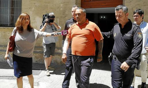El hijo de 'La Paca' fue interrogado este viernespor el juez y el fiscal durante tres horas.