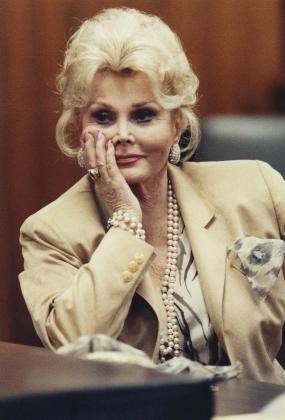 Imagen de archivo de la actriz Zsa Zsa Gabor.