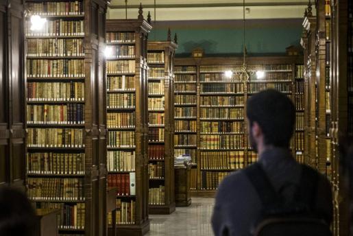 Imagen de archivo de una biblioteca de la institución académica.