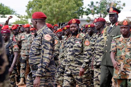 El presidente de Sudán del Sur, Salva Kiir, en una imagend e archivo.