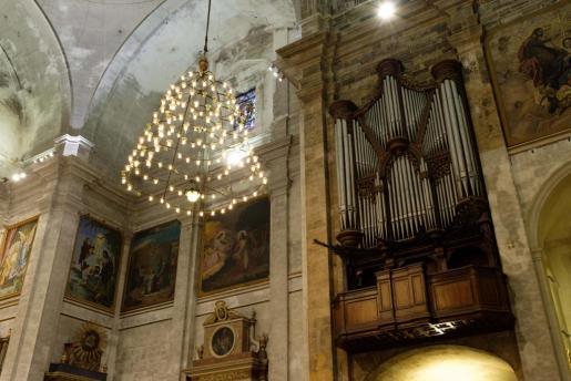 Cada viernes habrá un concierto de órgano que durará 30 minutos.