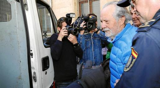 Bartolomé Cursach ingresó en prisión el pasado 3 de marzo.