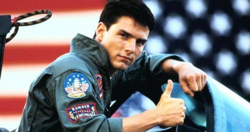 Tom Cruise, en una escena de 'Top Gun'.